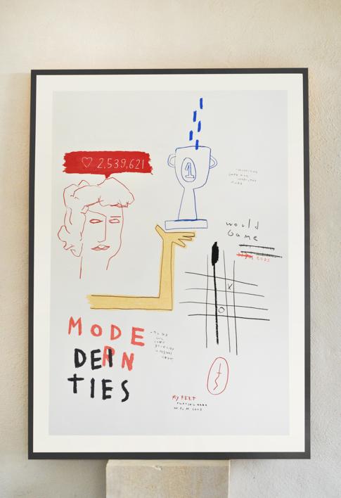 Modern Deities Serie |Dibujo de Toni Salom | Compra arte en Flecha.es