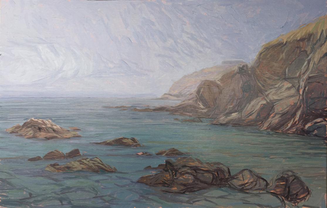 Punta Almina Ceuta |Pintura de Carlos J. Márquez | Compra arte en Flecha.es