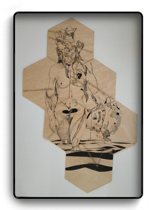 Artemis |Dibujo de Popaptuyu | Compra arte en Flecha.es