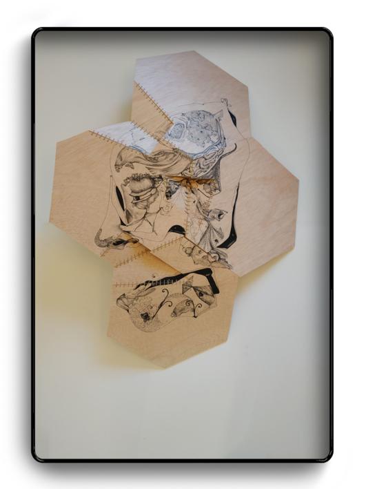 Ventrílocuo |Dibujo de Popaptuyu | Compra arte en Flecha.es
