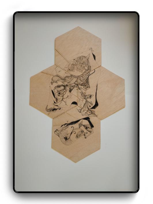 Ventrílocuo | Dibujo de Popaptuyu | Compra arte en Flecha.es