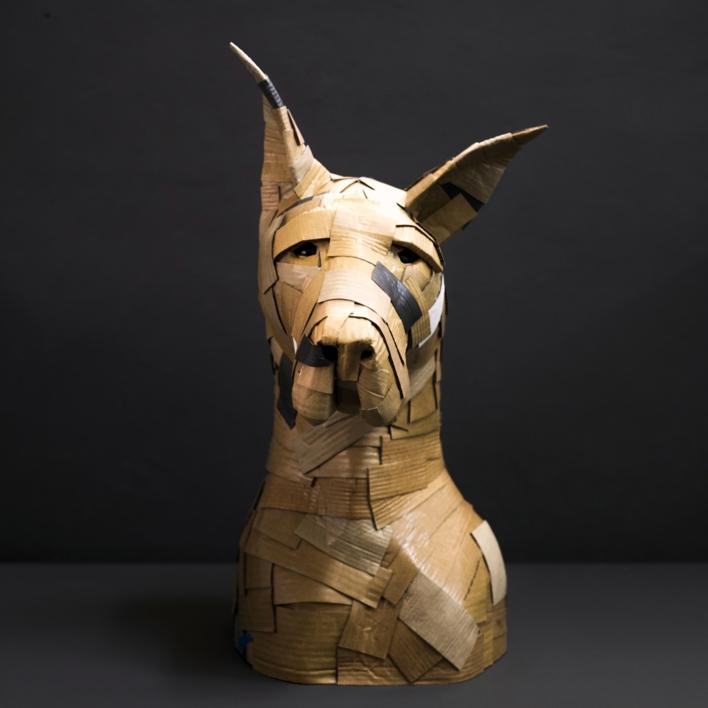 DANÉS Nº1 |Escultura de COVA ORGAZ | Compra arte en Flecha.es