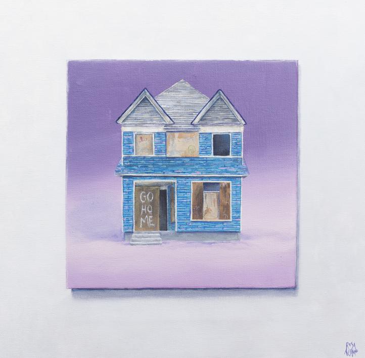 Go Home |Pintura de Rosa Alamo | Compra arte en Flecha.es