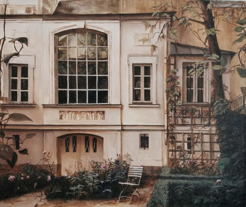Casa museo DELACROIX |Pintura de Carmen Nieto | Compra arte en Flecha.es