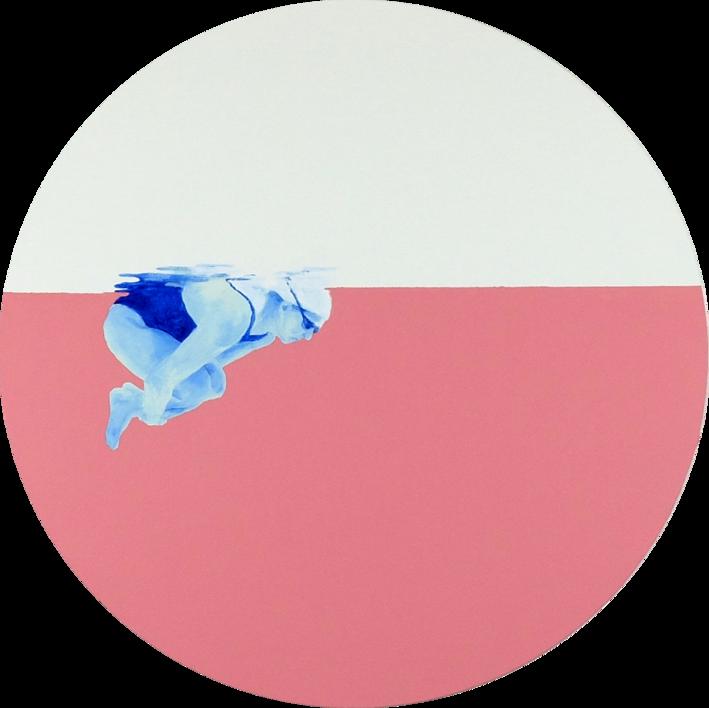Esperando nacer. Emma |Pintura de Ana Patitú | Compra arte en Flecha.es