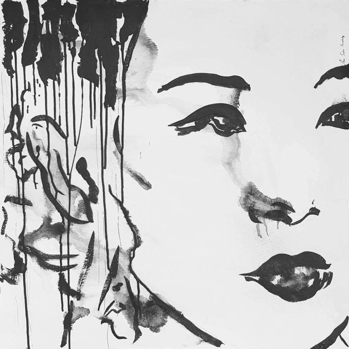 Tinta   XVIII |Dibujo de ANA  SOLER   FERNÁNDEZ | Compra arte en Flecha.es