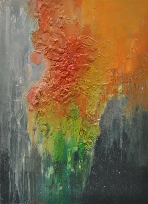 Tierra |Pintura de Ines Capella | Compra arte en Flecha.es