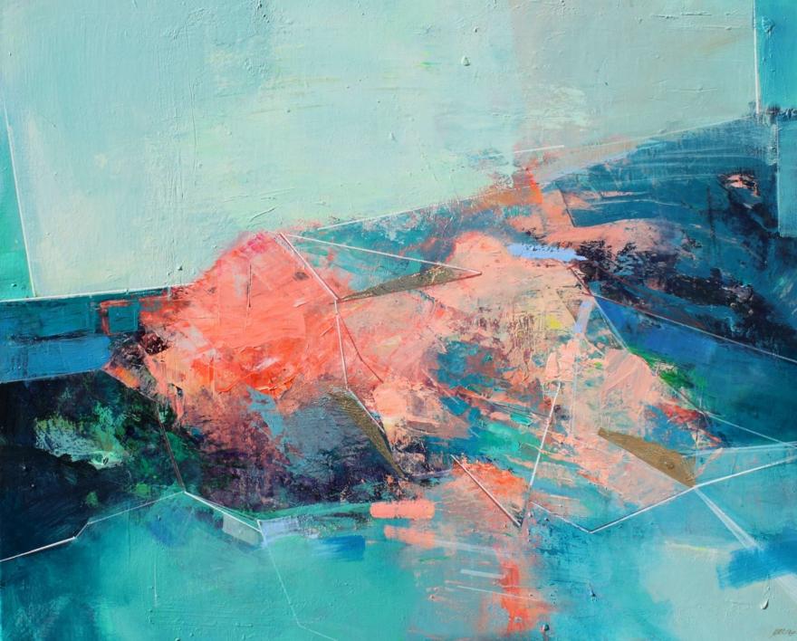 Rock Pools 3 |Pintura de Magdalena Morey | Compra arte en Flecha.es