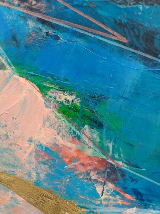 Rock Pools 3 | Pintura de Magdalena Morey | Compra arte en Flecha.es