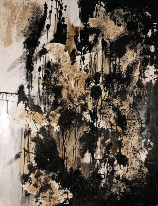 Terra e tinta |Pintura de Ines Capella | Compra arte en Flecha.es