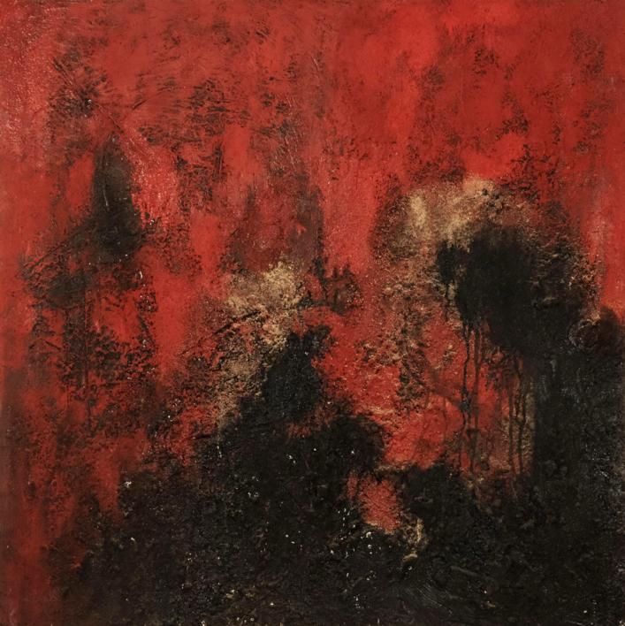 Etna |Pintura de Ines Capella | Compra arte en Flecha.es