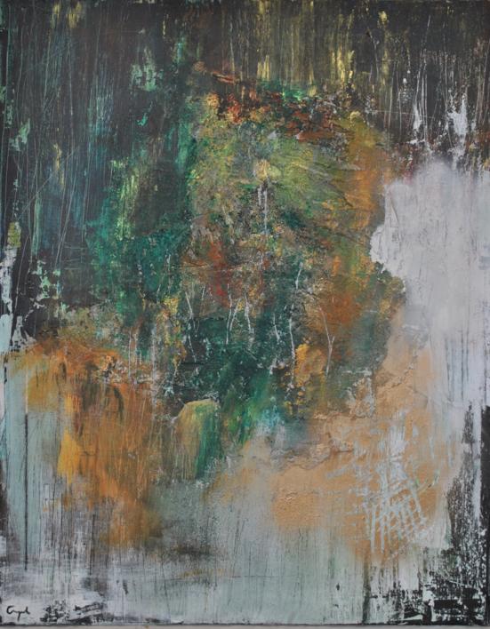 Materia |Pintura de Ines Capella | Compra arte en Flecha.es