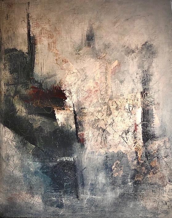Abismo |Pintura de Cristina Ibáñez | Compra arte en Flecha.es