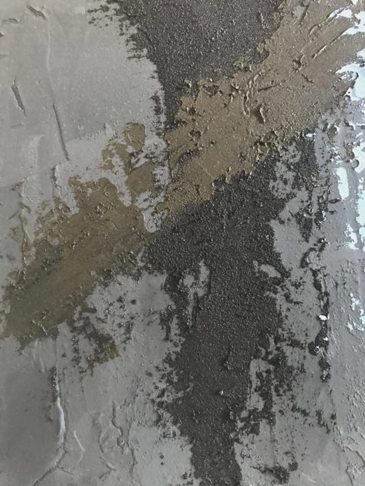 TIERRA Y AZUL | Pintura de ALFREDO MOLERO DOVAL | Compra arte en Flecha.es