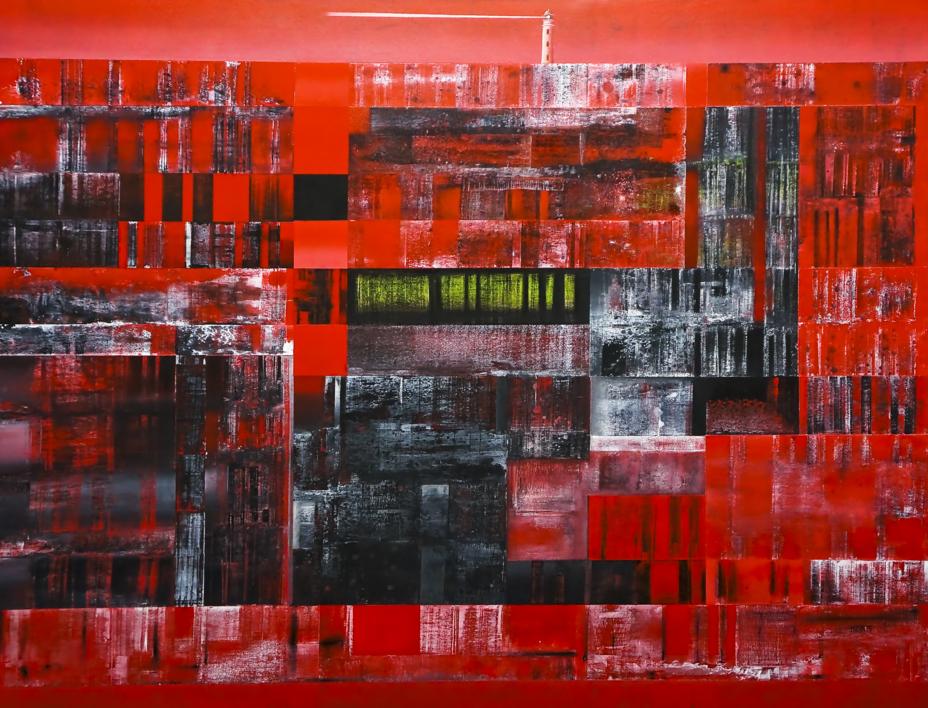 Lighthouse |Pintura de Eddy Miclin | Compra arte en Flecha.es