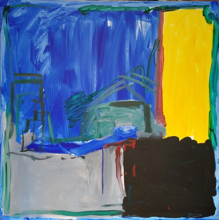 EN BUSCA DE NUEVOS PARADIGMAS 1 |Pintura de Jesús Cuenca | Compra arte en Flecha.es
