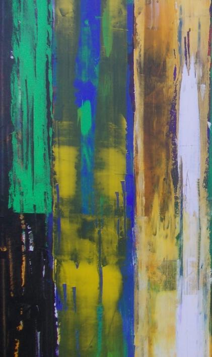 Double resistence 2 | Pintura de Francisco Santos | Compra arte en Flecha.es