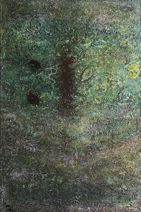 Entre la maleza |Pintura de Enric Correa | Compra arte en Flecha.es