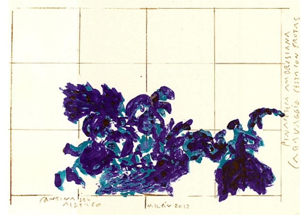 A propósito de Caravaggio. Boceto I  Dibujo de Alberto Corazón   Compra arte en Flecha.es