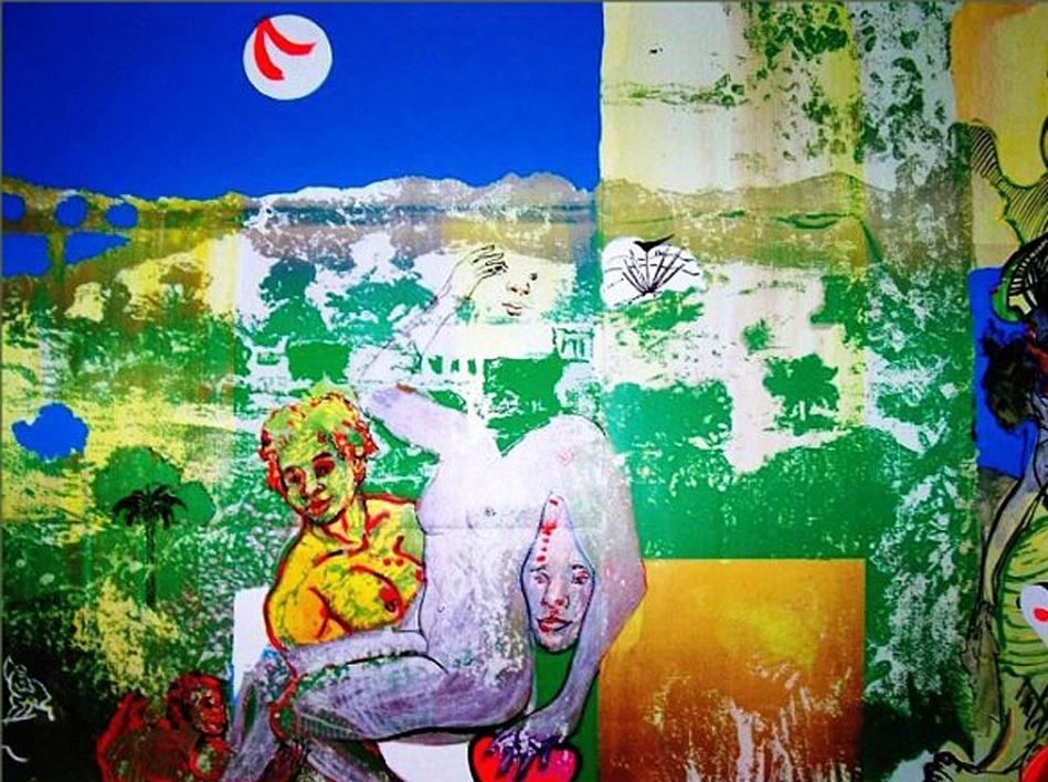 Mercurio y Venus I  Obra gráfica de Carlos Franco   Compra arte en Flecha.es