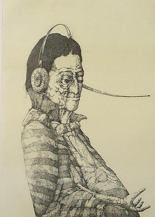 Caballero del Eterno Retorno |Obra gráfica de José Hernández | Compra arte en Flecha.es