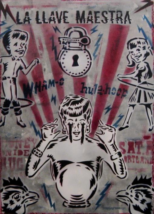 La LLave Maestra  Ilustración de Carlos Madriz   Compra arte en Flecha.es