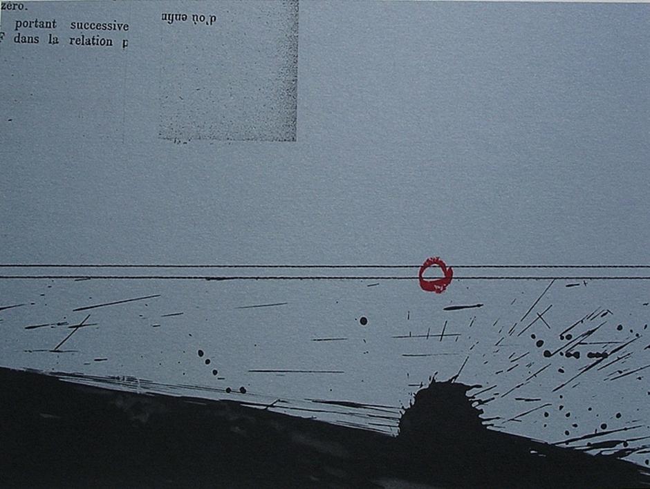 Pequeña Ráfaga  Obra gráfica de Enrique Brinkmann   Compra arte en Flecha.es