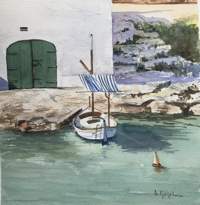 Menorca  Pintura de Chela Grijelmo   Compra arte en Flecha.es