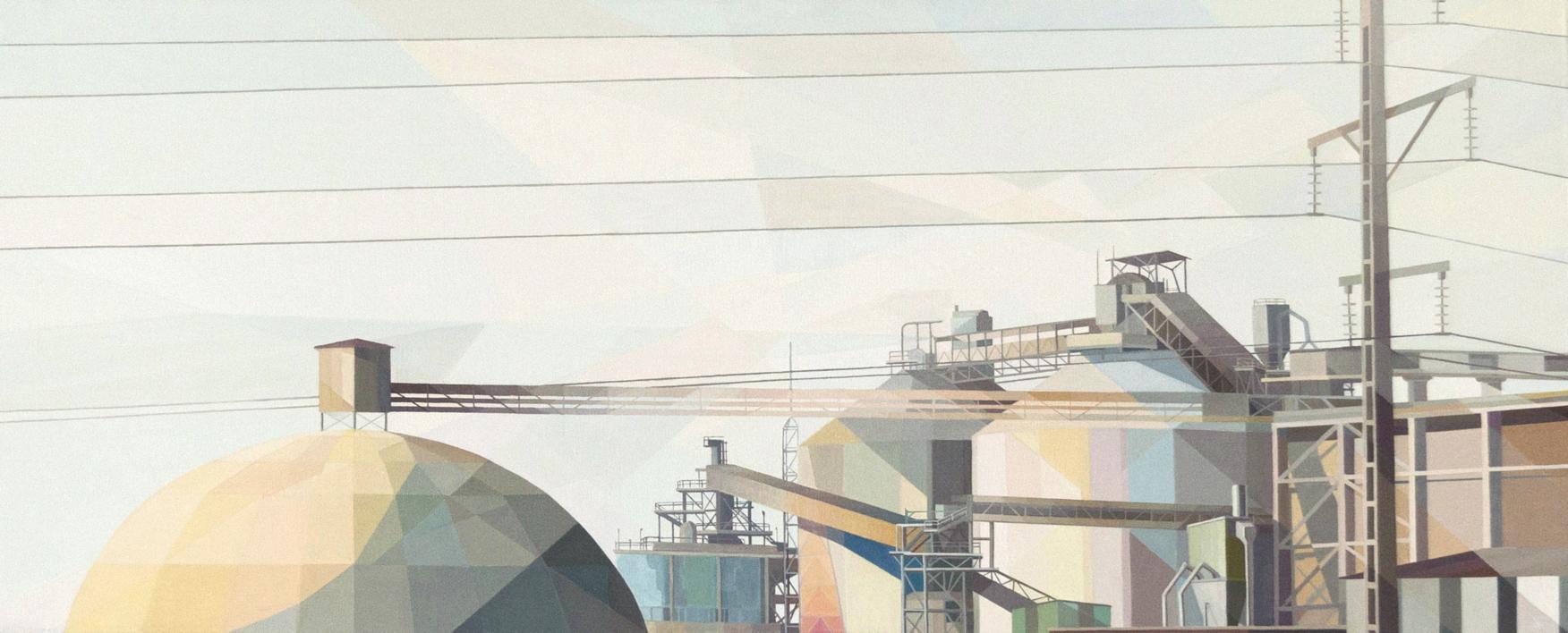 El Alto III |Pintura de Luis Monroy Esteban | Compra arte en Flecha.es
