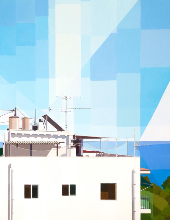 Altea II |Pintura de Luis Monroy Esteban | Compra arte en Flecha.es