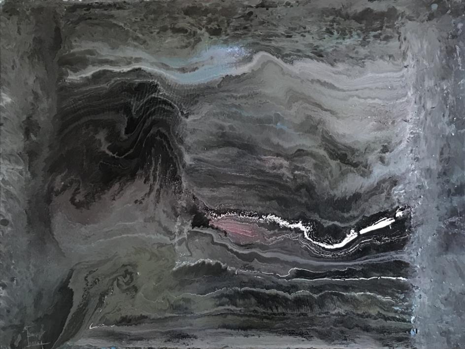 Composición misteriosa |Pintura de Enric Correa | Compra arte en Flecha.es