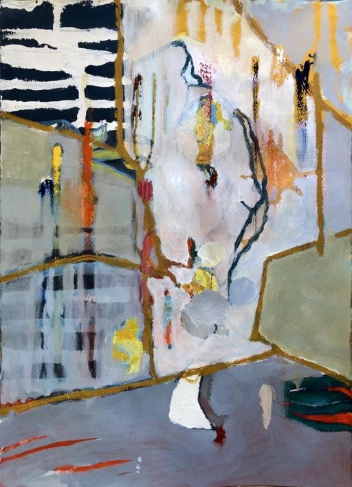PHYSIS II |Pintura de Iraide Garitaonandia | Compra arte en Flecha.es