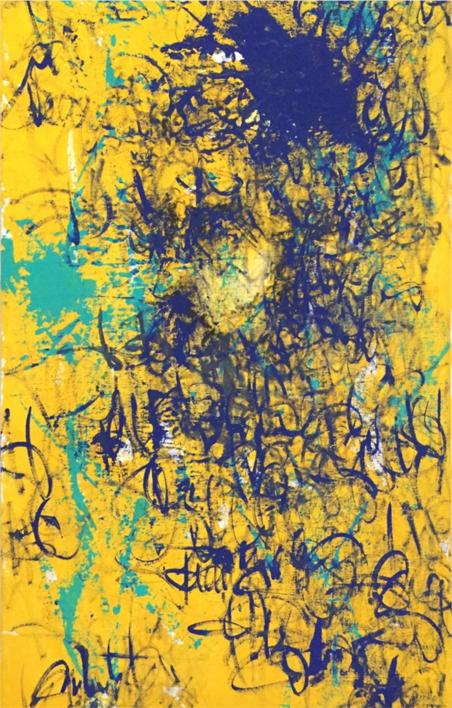 BLUR |Pintura de Ana Dévora | Compra arte en Flecha.es