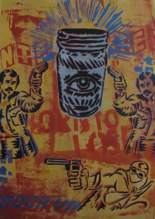 Stock Up  Obra gráfica de Carlos Madriz   Compra arte en Flecha.es