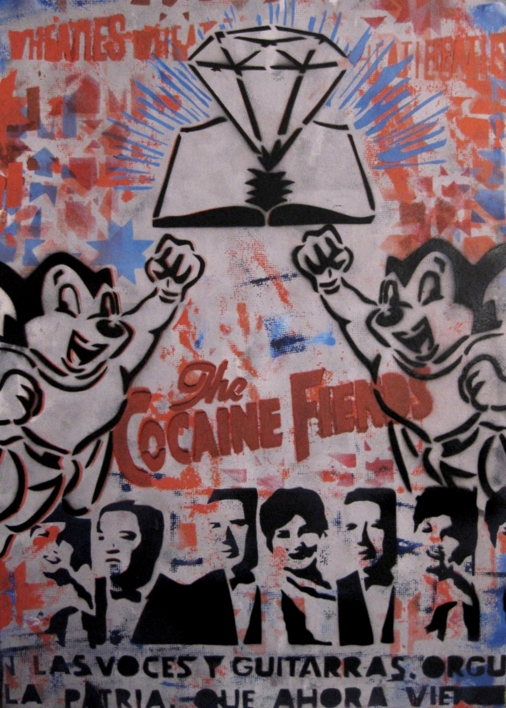 The Cocaine Fiends  Obra gráfica de Carlos Madriz   Compra arte en Flecha.es