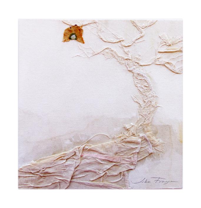 EL ÁRBOL DE LA CASITA DEL PÁJARO |Collage de Julia Fragua | Compra arte en Flecha.es