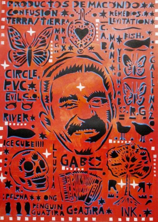 Gabo |Obra gráfica de Carlos Madriz | Compra arte en Flecha.es