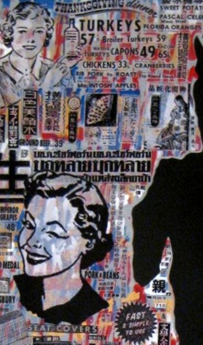 Bon Vivant | Collage de Carlos Madriz | Compra arte en Flecha.es