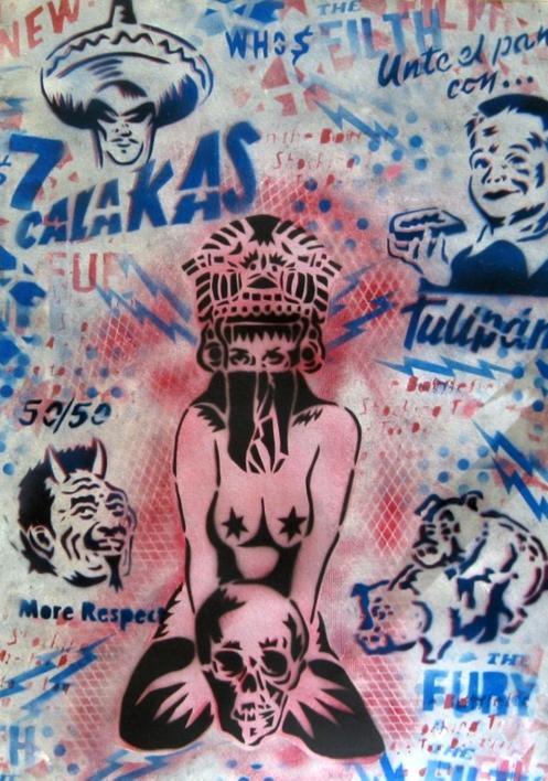 Promesas IX (Calakas Club)  Obra gráfica de Carlos Madriz   Compra arte en Flecha.es