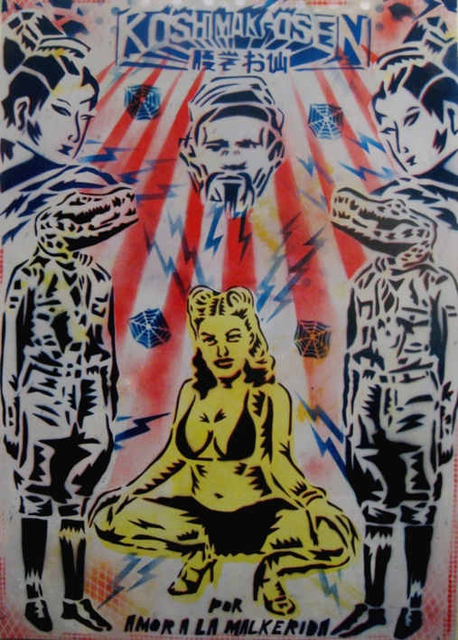 La Malkerida |Ilustración de Carlos Madriz | Compra arte en Flecha.es