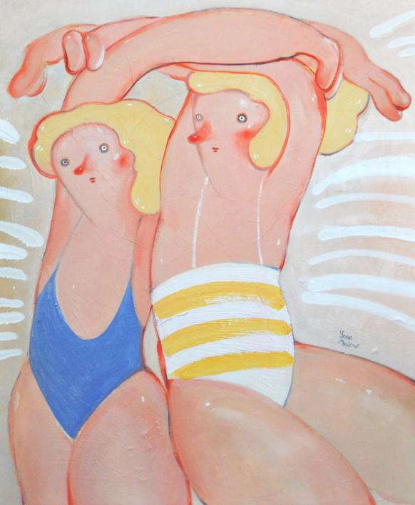 Shining  Pintura de Yana Medow   Compra arte en Flecha.es