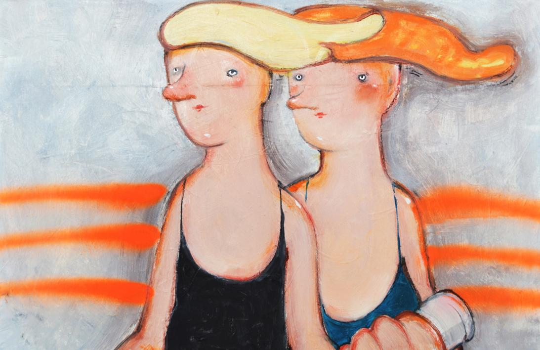 Petard | Pintura de Yana Medow | Compra arte en Flecha.es