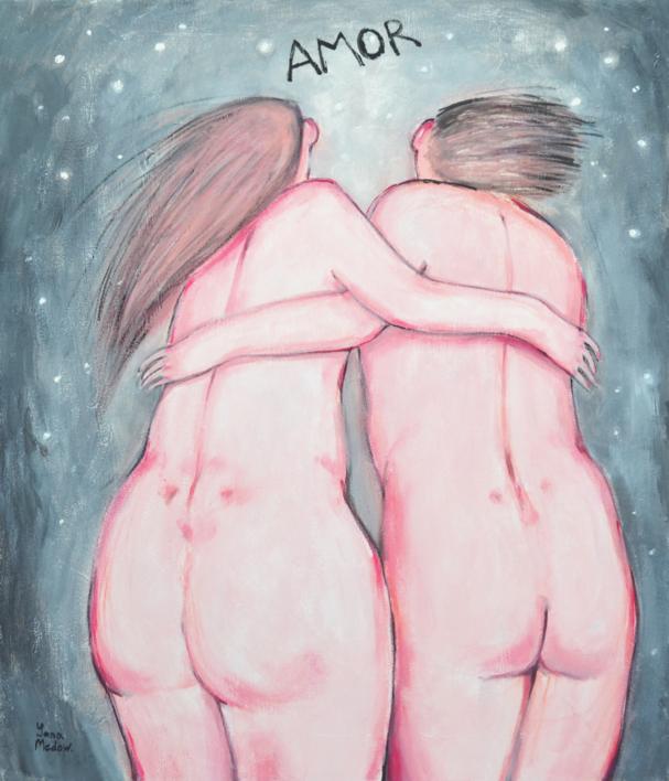 Amor |Pintura de Yana Medow | Compra arte en Flecha.es