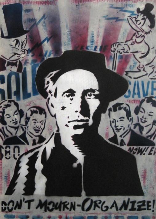 Joe Hill III  Obra gráfica de Carlos Madriz   Compra arte en Flecha.es