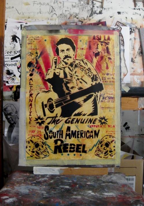 Don Pablo III   Obra gráfica de Carlos Madriz   Compra arte en Flecha.es