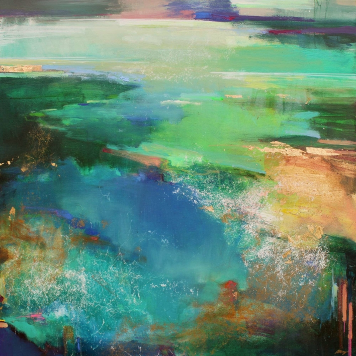 Riverside 2 |Pintura de Magdalena Morey | Compra arte en Flecha.es