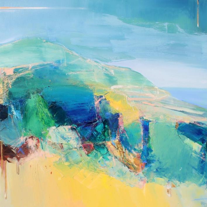 Woven Into The Landscape 2 |Pintura de Magdalena Morey | Compra arte en Flecha.es