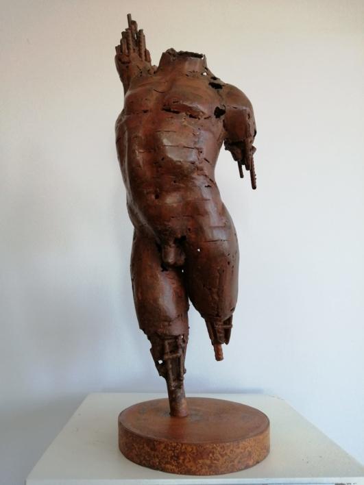 HERMES II |Escultura de Pablo Rebollo Pérez | Compra arte en Flecha.es