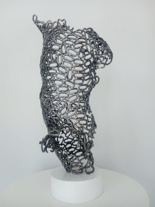 HONDERO  Escultura de Pablo Rebollo Pérez   Compra arte en Flecha.es