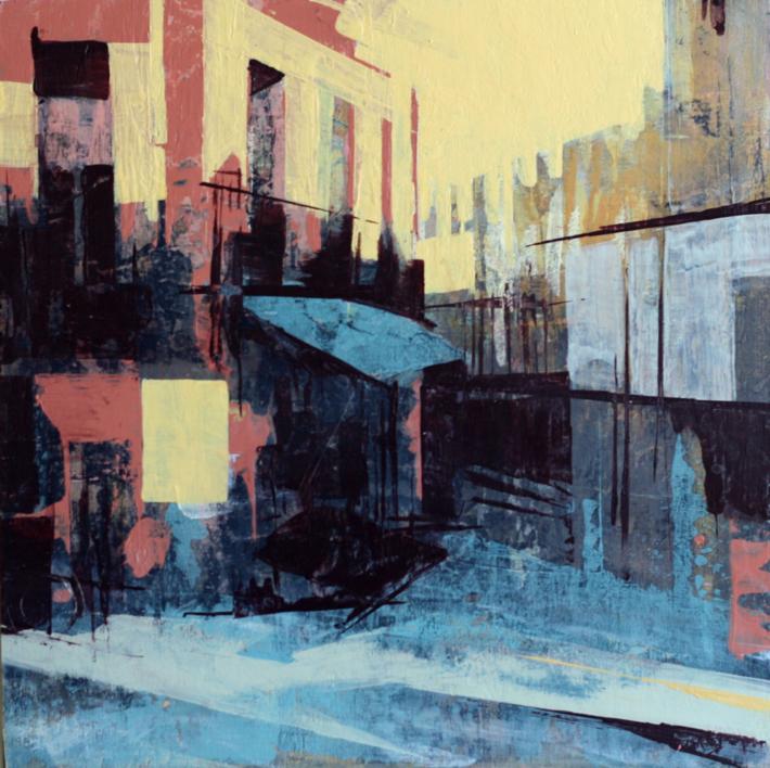 El Rincón |Pintura de JENNY FERMOR | Compra arte en Flecha.es